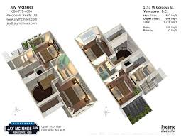 floor plan townhouse home plans ideas picture cordova street floor plan main coal harbour