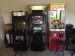 moving arcade video game u0026 claw machine from garage to game room