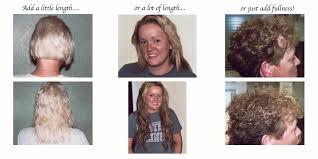 pics pf extentions with short hair portfolio