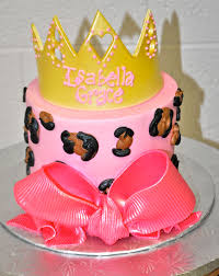 coolest cupcakes pink leopard and crowns baby shower cake and