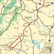 maryland byways map journey through hallowed ground byway southern section