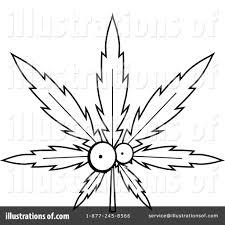 marijuana clipart 1156949 illustration by cory thoman