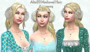 1800s hairstyles for sims 3 mythical dreams sims 4