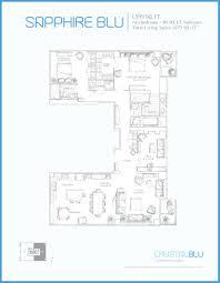 One Bloor Floor Plans by Crystal Blu Condos Yorkville Toronto Bazis