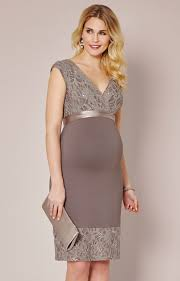 maternity occasion wear twilight lace maternity dress mocha maternity wedding dresses