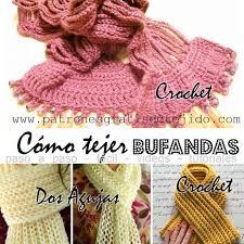 bufandas mis tejidos tejer en navidad manualidades navidenas bufanda aprende a tejer bufandas 4 video tutoriales crochet y dos agujas