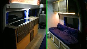 motor home interiors self build motorhome interior rebuild low budget youtube
