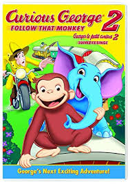 amazon curious george 2 follow monkey curious george