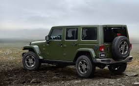 jeep models special edition jeep models celebrate the brand u0027s 75 year history