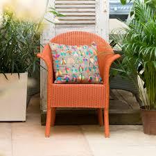 Orange Armchair Buy Burnt Orange Lloyd Loom Classic Armchair Genuine Lloyd Loom