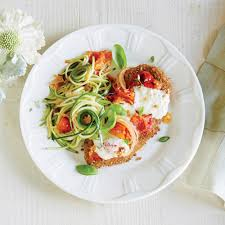 thanksgiving noodles recipe chicken parmesan over zucchini noodles recipe myrecipes