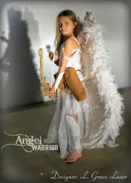 halloween angel wings uniquely grace angel warrior costume with articulated wings