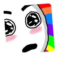 Meme Sticker - color meme sticker pack by khoi lai