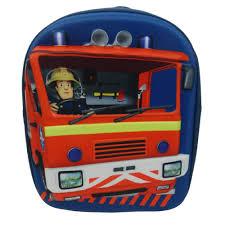 fireman sam jupiter 3d backpack 10 00 hamleys fireman sam