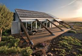 experimental bioclimatic house in granadilla tenerife