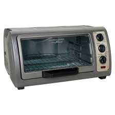 Oster 6 Slice Digital Toaster Oven Hamilton Beach 6 Slice Easy Reach Toaster Oven With Convection