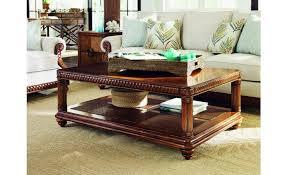 tommy bahama coffee table top tommy bahama home bali hai vineyard point rectangular cocktail