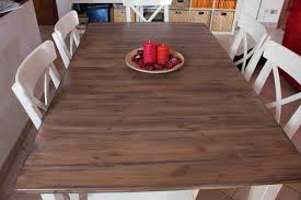 Country Kitchen Tables by Hack A Country Kitchen Style Dining Table Ikea Hackers Ikea