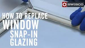 How To Hang Door Beads by How To Replace Window Snap In Glazing Youtube