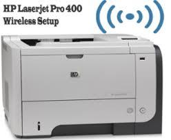 hp laserjet pro 400 wireless setup printer driver