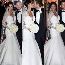 amazing wedding dresses christine bleakley wedding dress style news plan