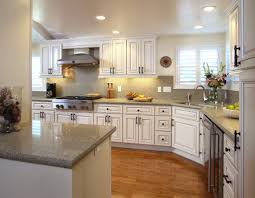 l shaped french country kitchen white color scheme kitchens