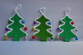 amjaylou crochet christmas tree decoration