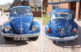 old volkswagen volvo classic volkswagen 1300 beetle cobalt blue