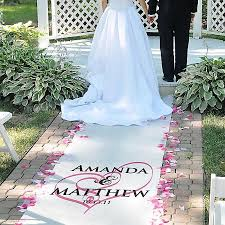 aisle runner wedding top 8 wedding aisle runners