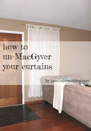 how to un macgyver your curtains jamie u0027s home blog