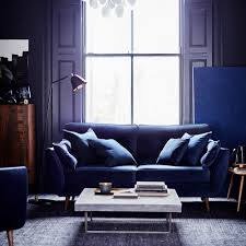 the dfs zinc sofa has had a stunning velvet makeover uh oh