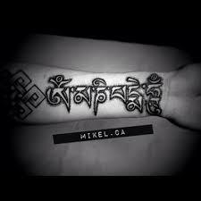 mikel om mani padme hum u2013 tattoo zoo
