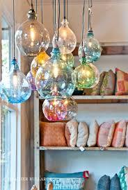 hanging glass pendant lights hand blown glass pendant lights heather bullard