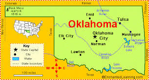 map of new york enchanted learning oklahoma facts map and state symbols enchantedlearning