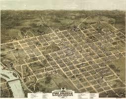 map of columbia south carolina birdseye view of columbia south carolina 1872