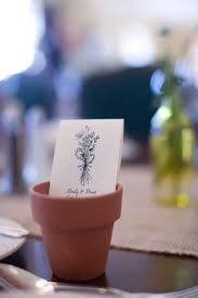 Flower Pot Wedding Favors - 14 ways to use lavender at your wedding