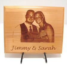 photo custom laser engraved wood plaque sign choose your