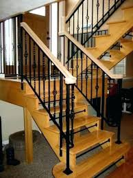 interior railings home depot indoor stair railing kits large size of glass railing kit