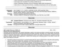 free resume templates for customer service representative resume