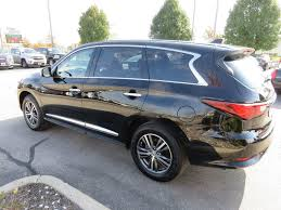 2017 infiniti qx60 offers the 2017 used infiniti qx60 awd heated leather touchscreen sunroof 3rd