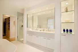 White Bathroom Lighting Traditional Bathroom Lighting Ideas Bathroom Modern With Marble