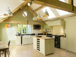 neptune kitchen furniture vaulted ceiling neptune kitchen with oak trusses and island unit