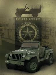 army jeep ww2 jeep celebrates 75 years with wwii willys overland tribute concept