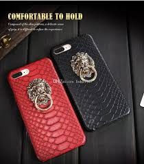 classic lion ring holder images 2018 new design case for iphone 7 7 plus cover luxury lion head jpg