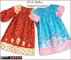 peasant dress pattern free mother daughter apron pattern