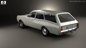 opel rekord 360 view of opel rekord c caravan 1967 3d model hum3d store