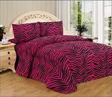 Zebra Bed Set Zebra Print Bedding Ebay