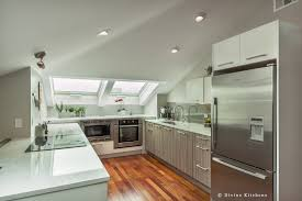 furniture fancy kitchen design idea with kiwi cabinet silver range