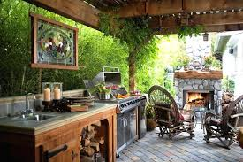 Outside Kitchen Ideas Kitchen Outdoor Kitchen Plans Images Kitchens 7 Outdoor Kitchen