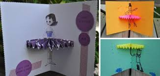 papermau ballerina birthday cards with templates by hey mickey